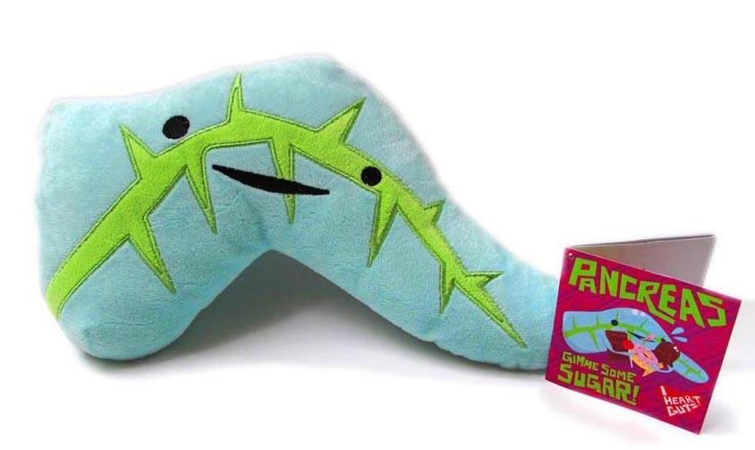 Diabetes Plush Pancreas Toys to Love (with Giveaway!)