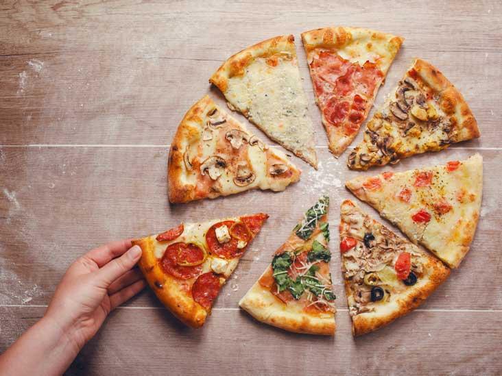 is veggie pizza healthy