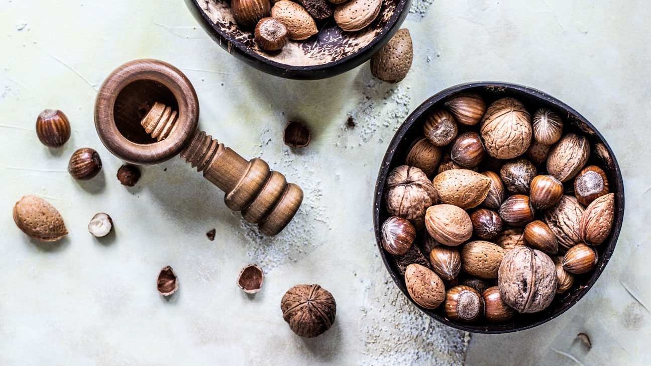 Go Nuts: Recipes that Really Shell Out