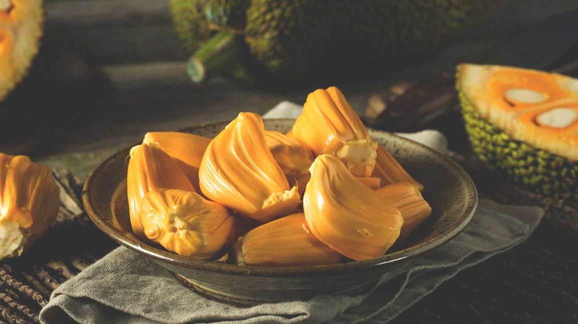 Jackfruit on Plate