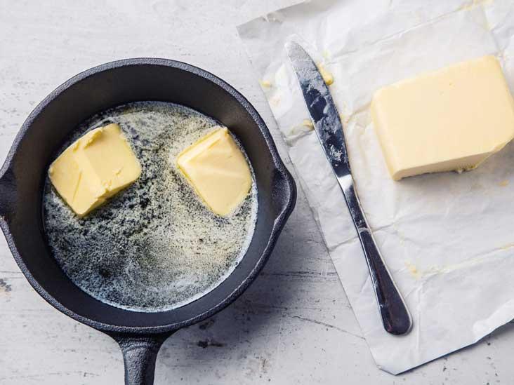 Maismargarine auf einem entkoppelten Diätmenü