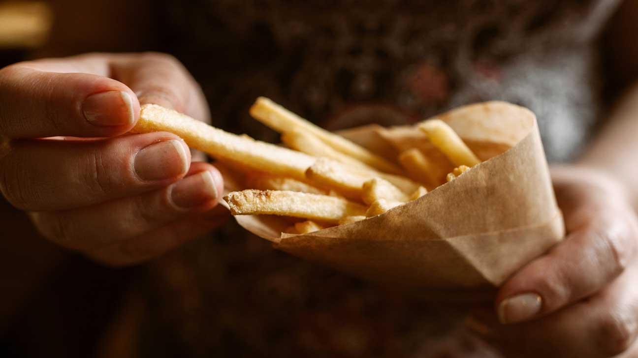 What will happen to your body if you stop eating fast food