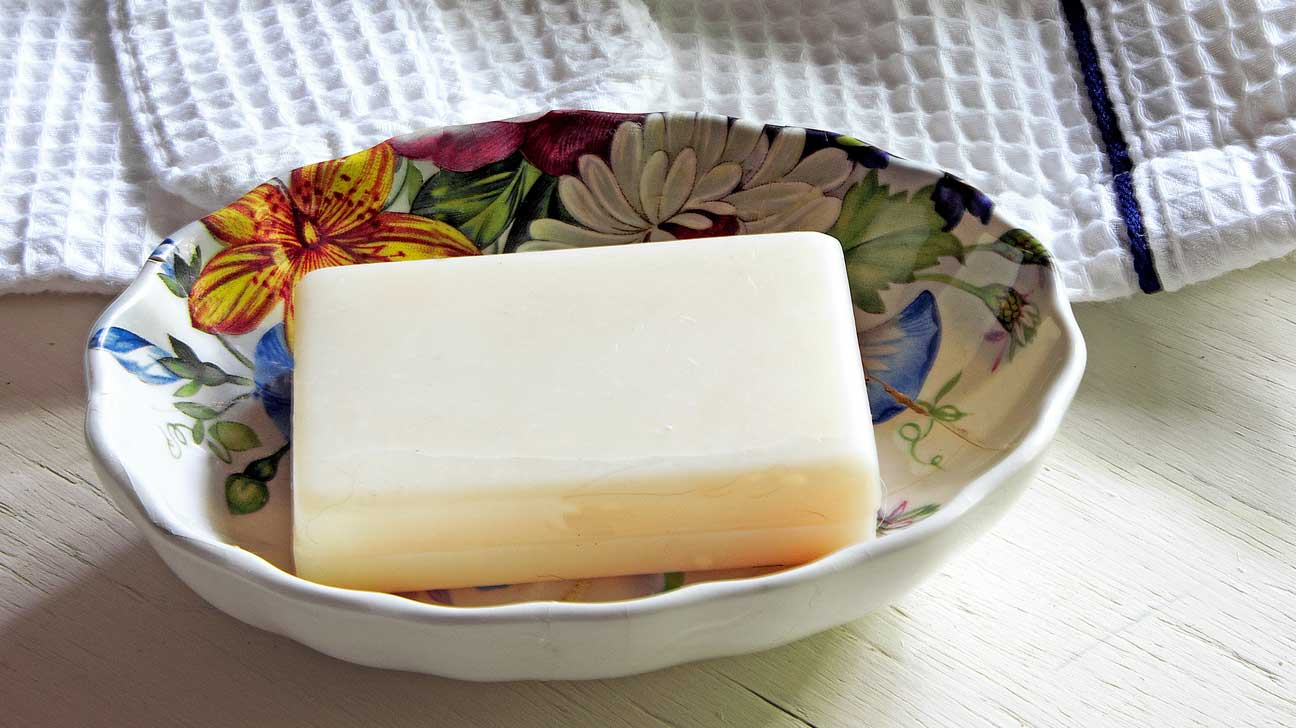 Simple way to make soap at home without lye or glycerin suppositories