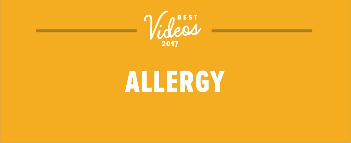 The Best Allergy Videos of the Year