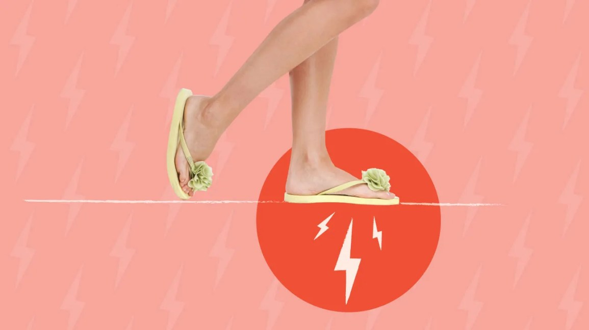 2463c3337c26f Can My Sandals Cause Flat Feet and Pain? Plus 5 Tips and Remedies