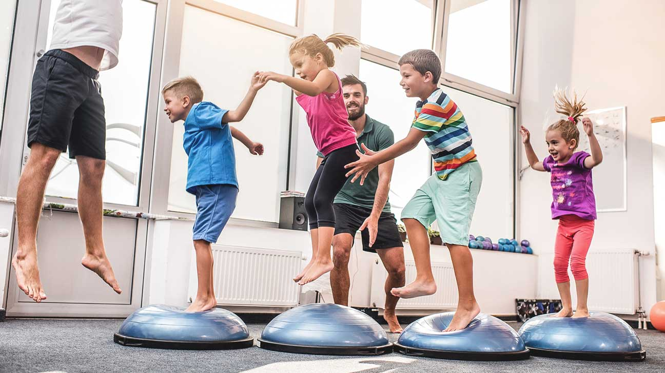 using physical exercises to improve mental health