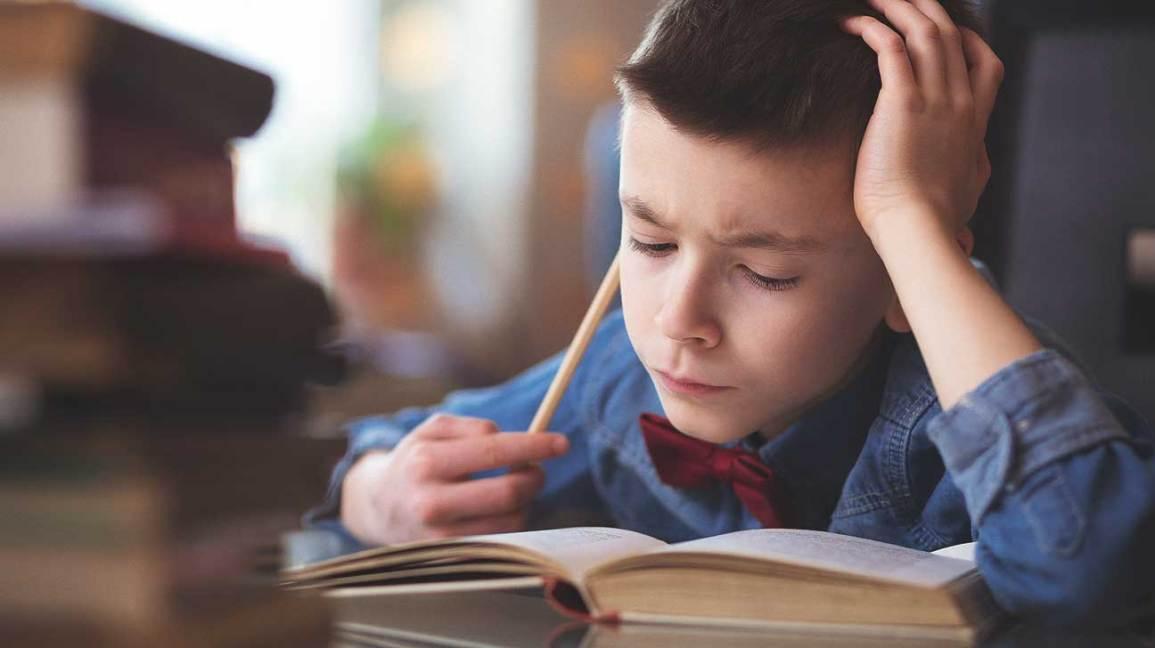 middle school children homework