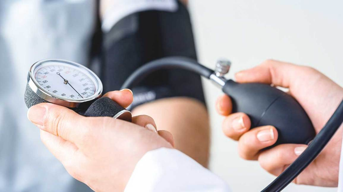 blood pressure measurements