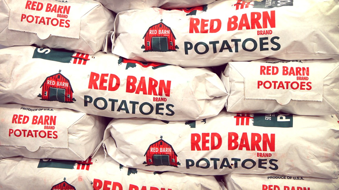 bags of red potatoes