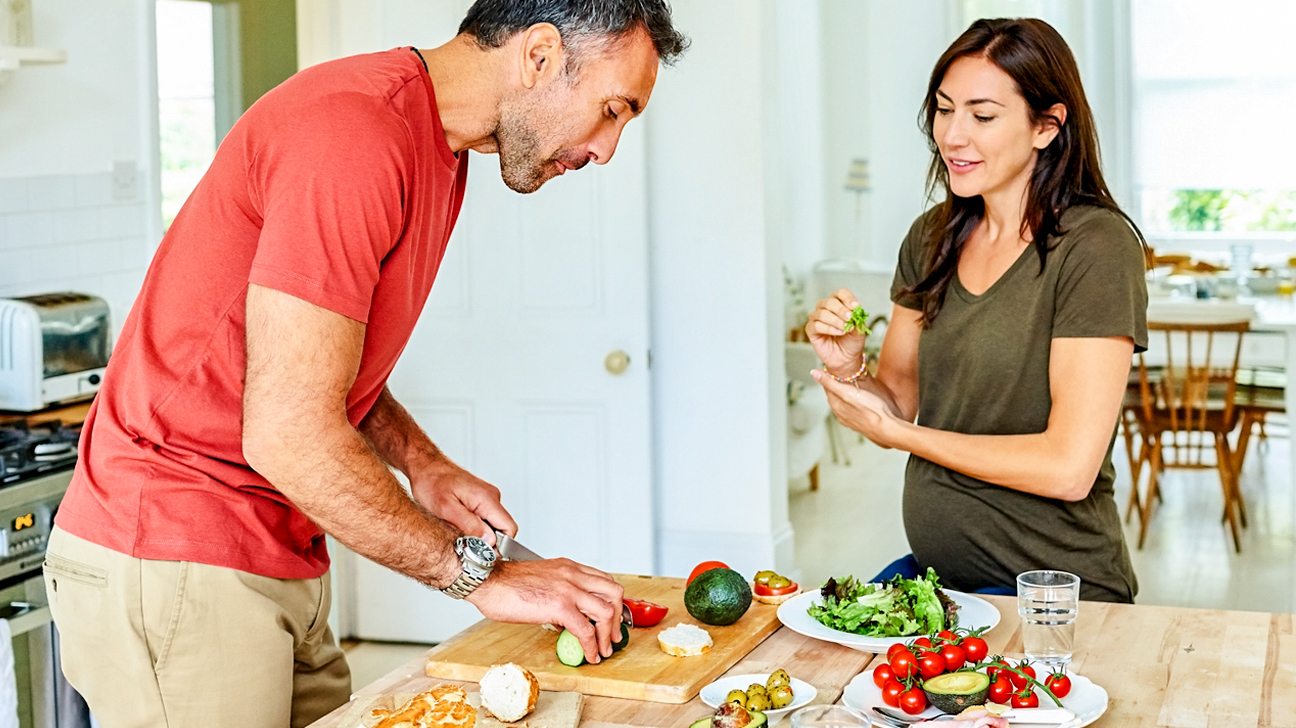 Exercises for You, Eating for Two