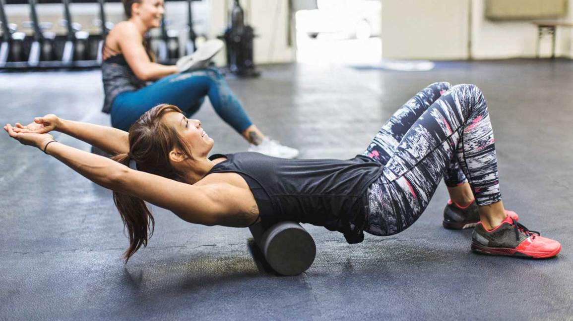 Foam Rolling: 8 Magic Moves That'll Relax All the Tension in Your