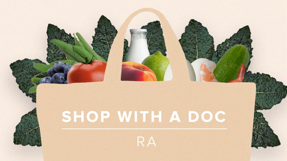 Shop with a Doc: 5 Recipes for People with RA to Keep Inflammation at Bay