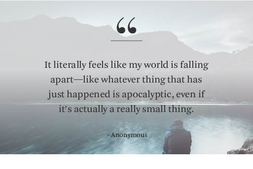 Anxiety no reason for random Why do