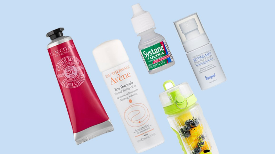 How to Maintain Hydrated Skin in an Air-Conditioned Room