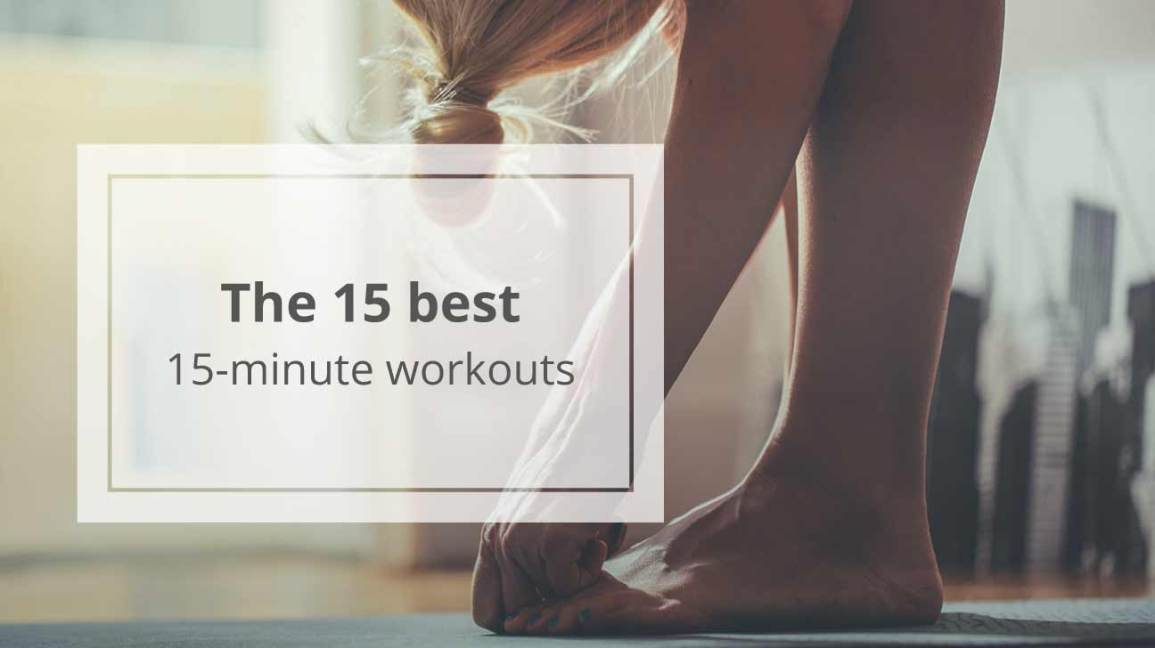 15 Places to Find 15-Minute Workouts
