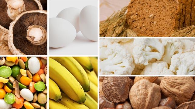 comida com biotina