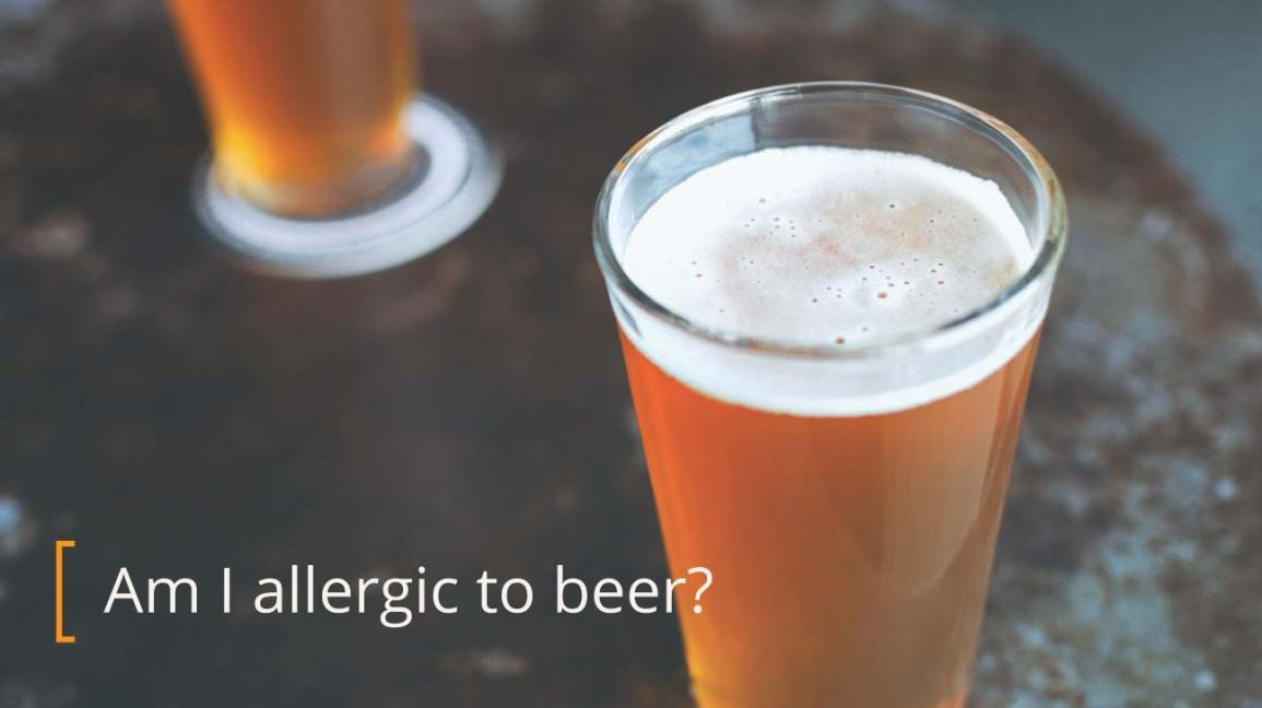 beer allergy