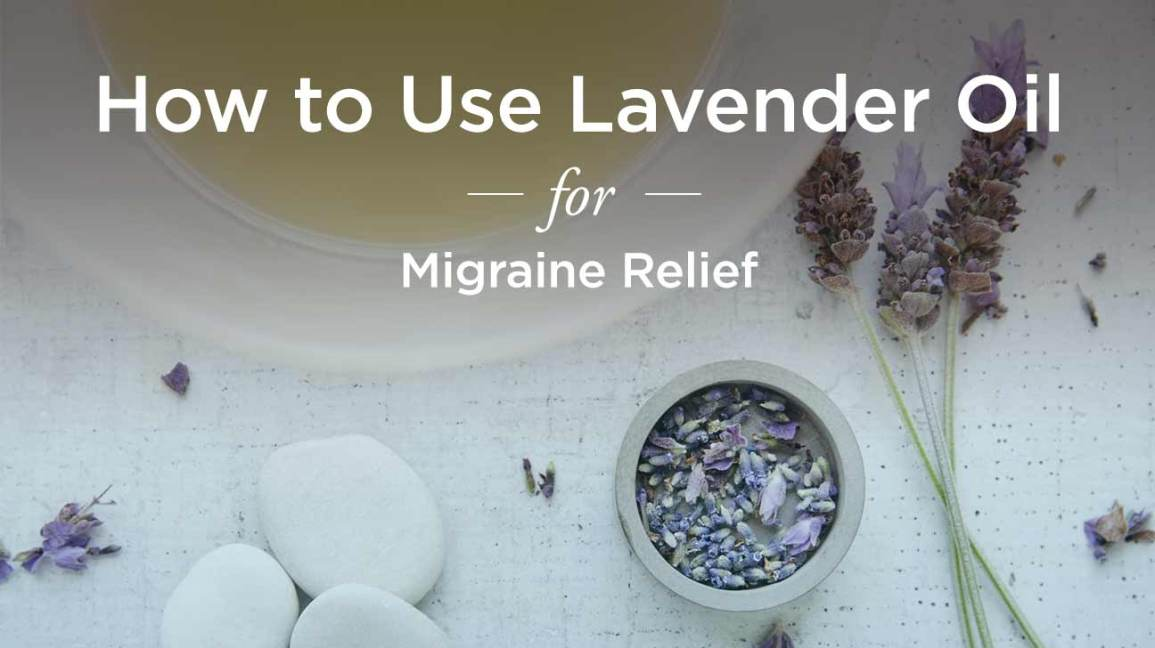 lavendar oil for migraines