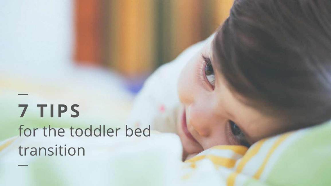 when to move to toddler bed