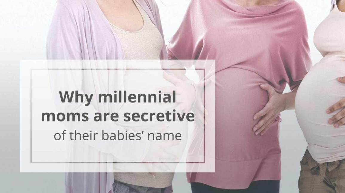 three pregnant millennials