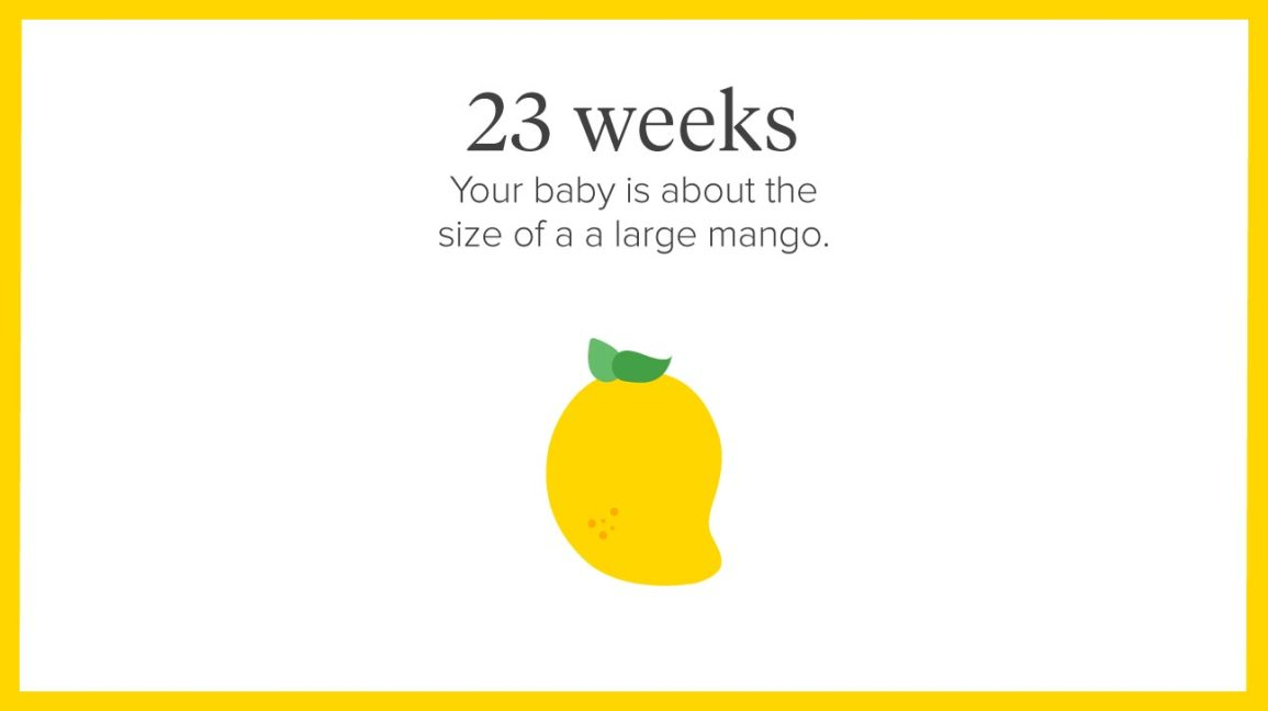 23 Weeks Pregnant: Symptoms, Tips, and More