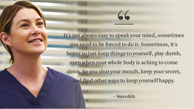 14 \'Grey\'s Anatomy\' Quotes That Give Us Life