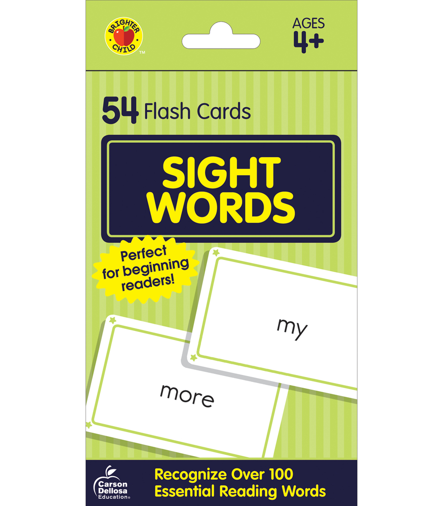 hight resolution of Sight Words Flash Cards