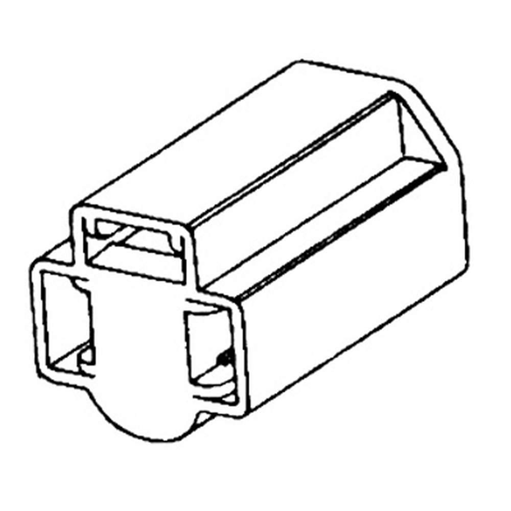 SB-5 Seal Beam Headlight Connector, Sockets & Socket
