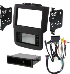 details about metra 99 6527b 2013 2019 fits dodge ram single double din radio stereo dash kit [ 1000 x 1000 Pixel ]