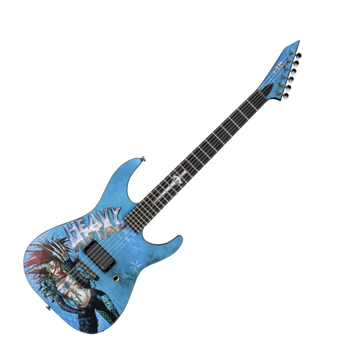 hight resolution of esp ltd heavy metal electric guitar graphic series with 1 black prs wiring harness ltd guitar