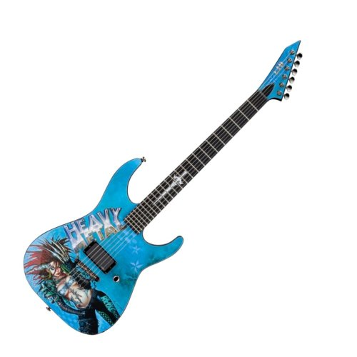 small resolution of esp ltd heavy metal electric guitar graphic series with 1 black prs wiring harness ltd guitar