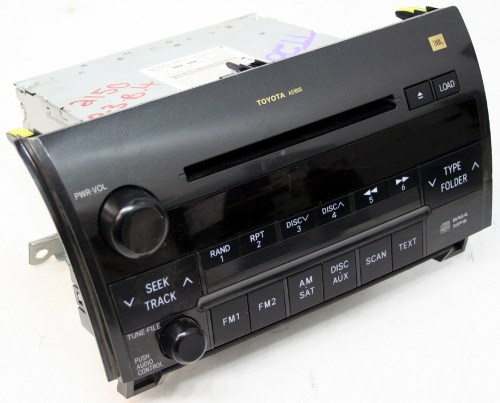 small resolution of 2008 2009 toyota sequoia factory jbl 6 disc changer cd player oem radio r 2510
