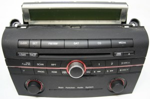 20062007 Mazda 3 Factory Stereo 6 Disc Changer CD Player