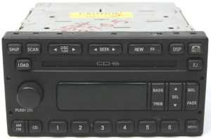 20012004 Ford Escape Factory Stereo 6 Disc Changer CD