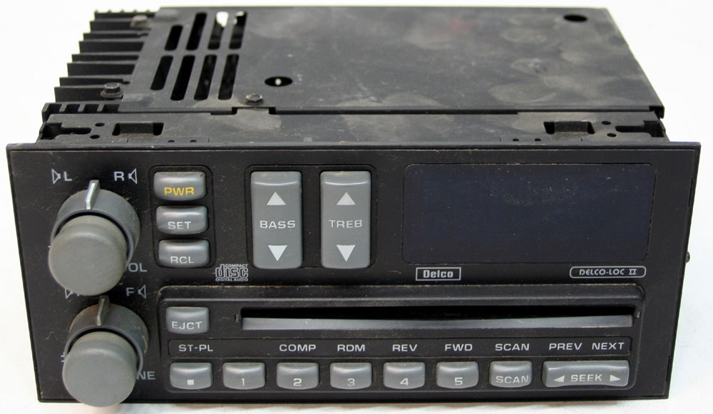 1996 Gmc Jimmy Radio Wiring Diagram 1992 1993 Chevy S10 Truck Factory Stereo Am Fm Cd Player