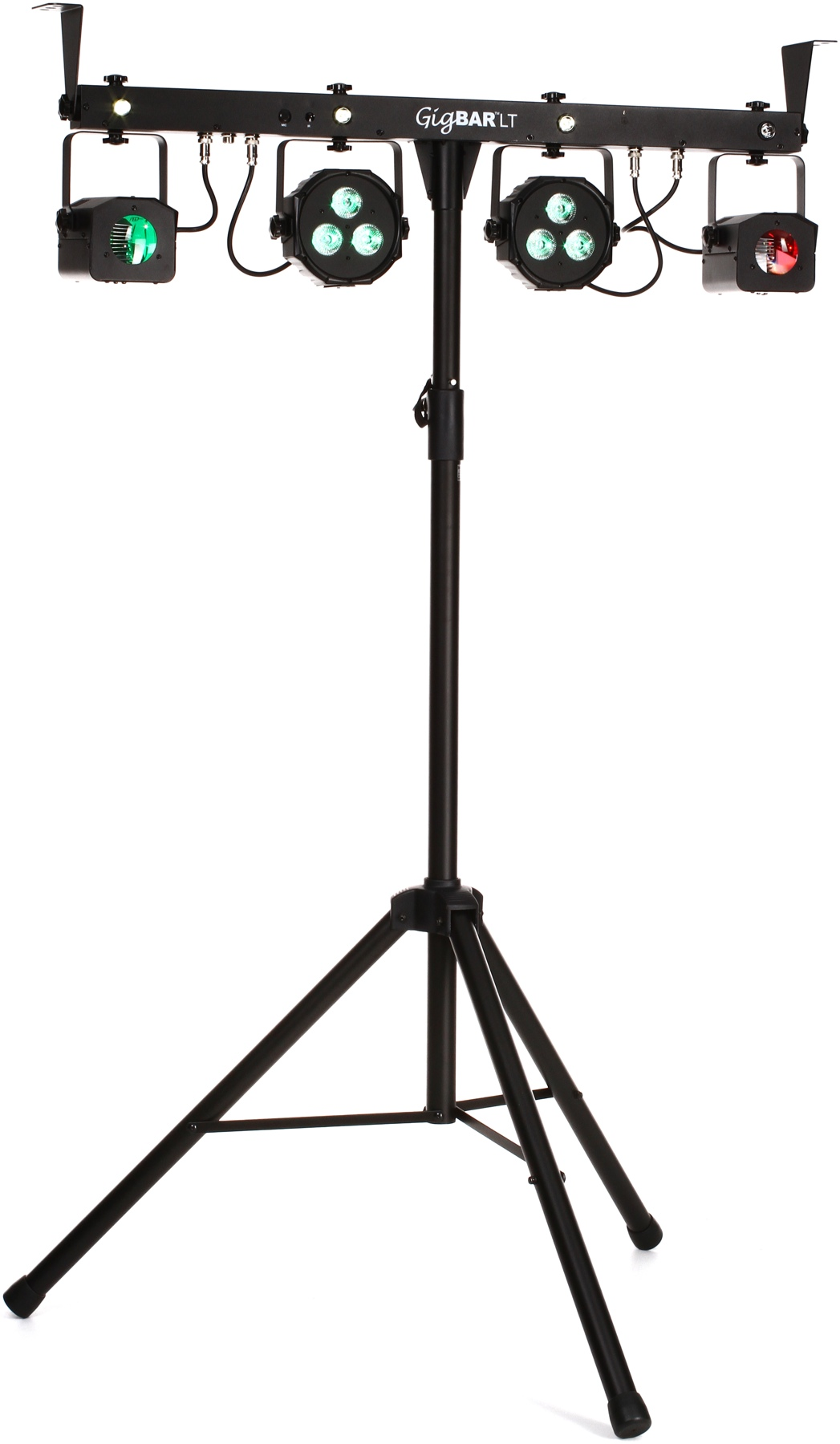 Chauvet Gigbarlt 3 In 1 Led Lighting Fixture Package With