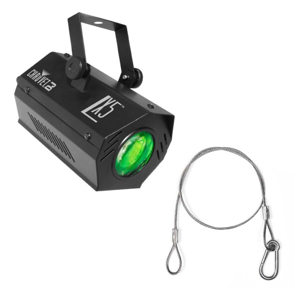 Chauvet Lx-5 Led Moonflower Effect Lighting Fixture With 24- Safety Cable - Ppackage-581