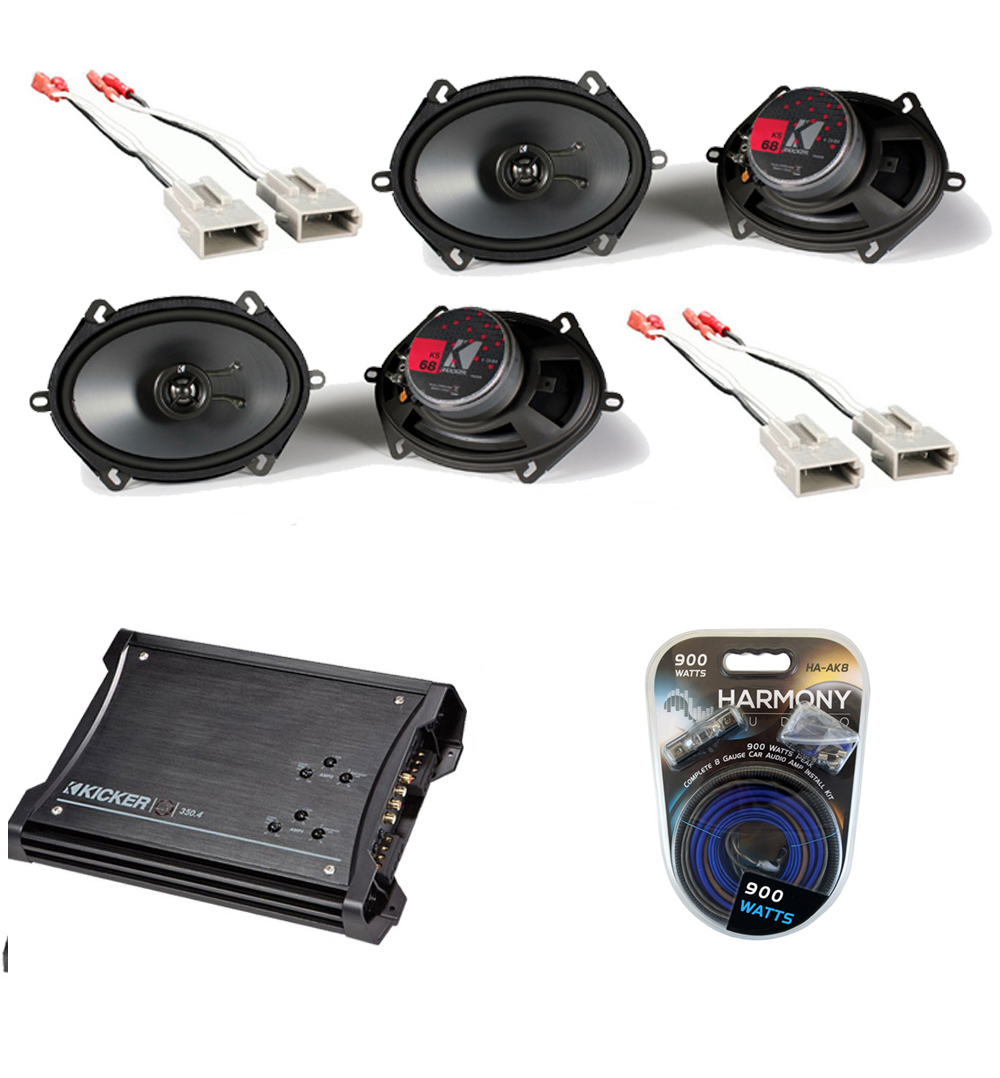 hight resolution of ford ranger 1993 1997 extended cab truck factory 5x7 6x8 coaxial speaker replacement 2 ks68 package with zx350 4