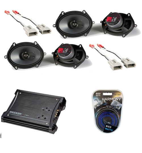 small resolution of ford ranger 1993 1997 extended cab truck factory 5x7 6x8 coaxial speaker replacement 2 ks68 package with zx350 4