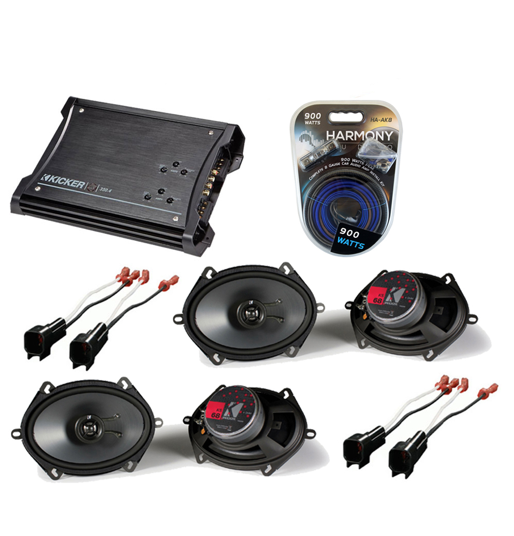 hight resolution of ford ranger 1998 2012 extended cab truck factory 5x7 6x8 coaxial speaker replacement 2 ks68 package with zx350 4