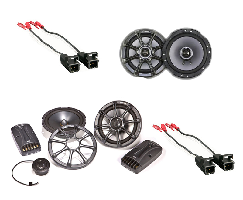 Cadillac Escalade 02-06 Kicker Factory Speaker Replacement