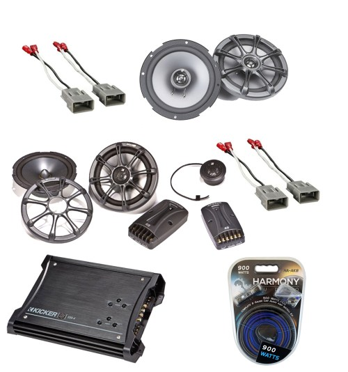 small resolution of honda element 2003 2008 kicker factory component speaker replacement ks65 2 ks65 package