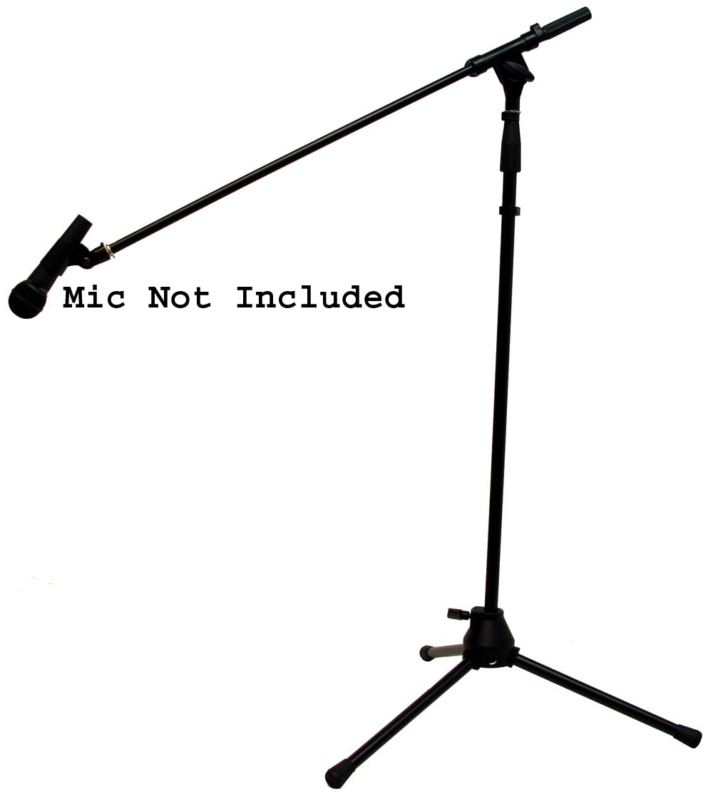 Pro Audio Universal Iron Adjustable Height Boom Arm