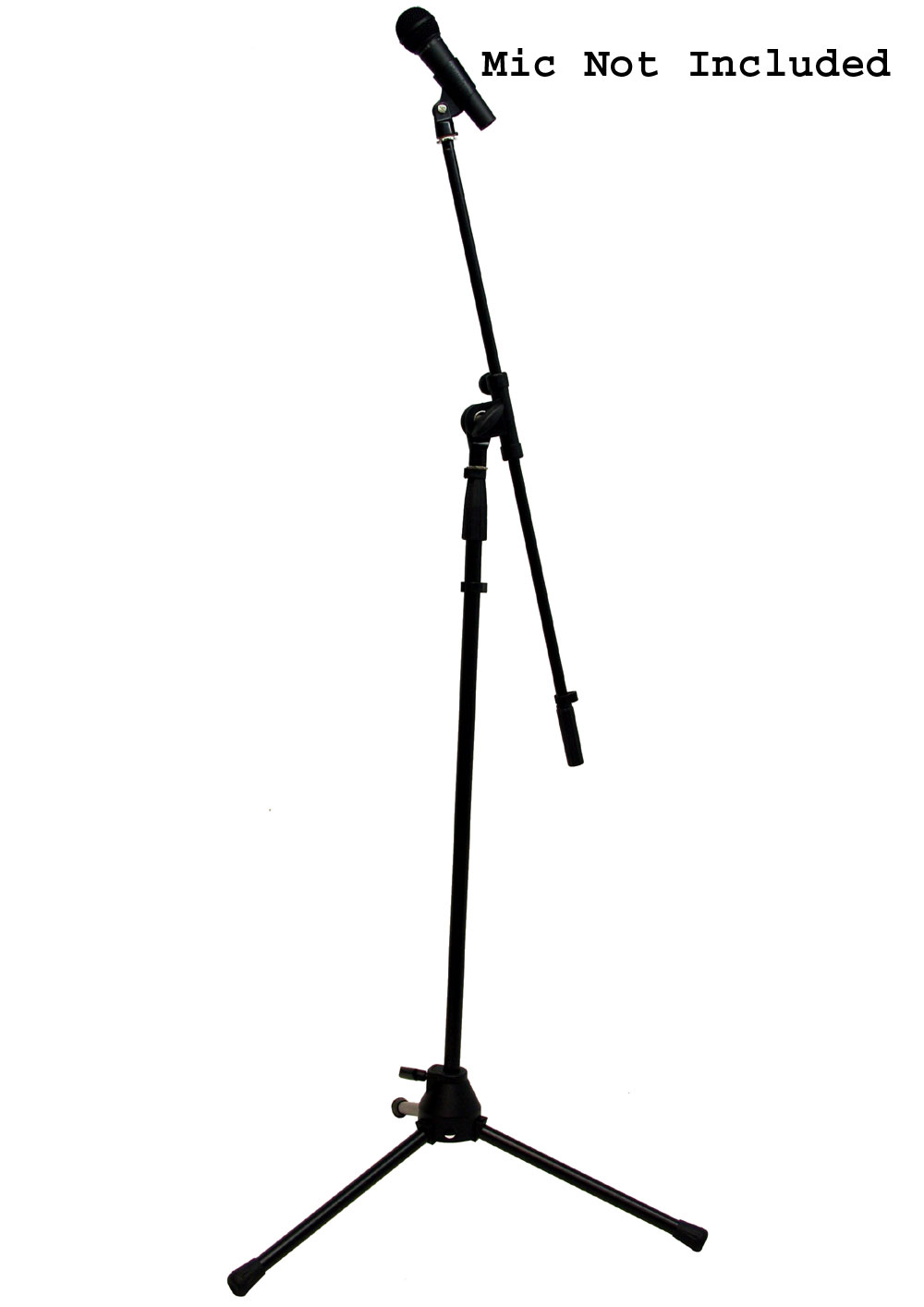 (10) Pro Audio DJ Tripod Adjustable Height Boom Mic