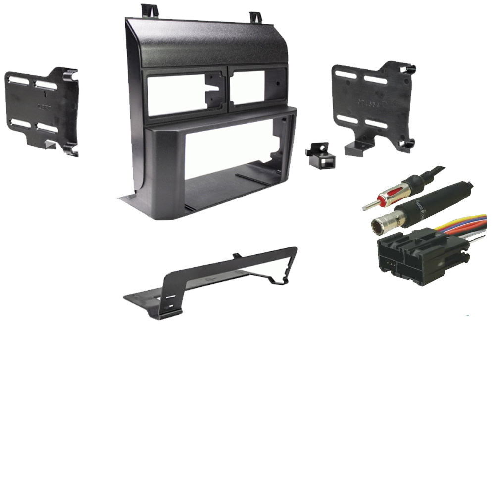 medium resolution of chevy suburban 1992 1994 double din stereo harness radio install dash kit sc2 radiokit1925
