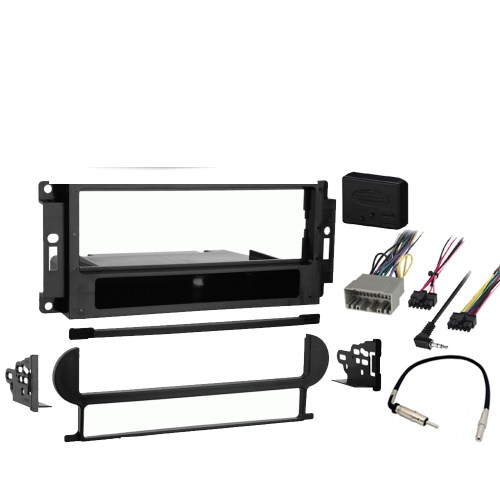 small resolution of jeep commander 2006 2007 single din stereo harness radio install dash kit new sc2 radiokit2009