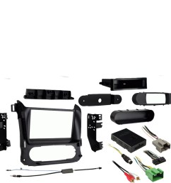 chevy suburban 2015 2017 single or double din stereo radio install dash kit [ 1000 x 1000 Pixel ]