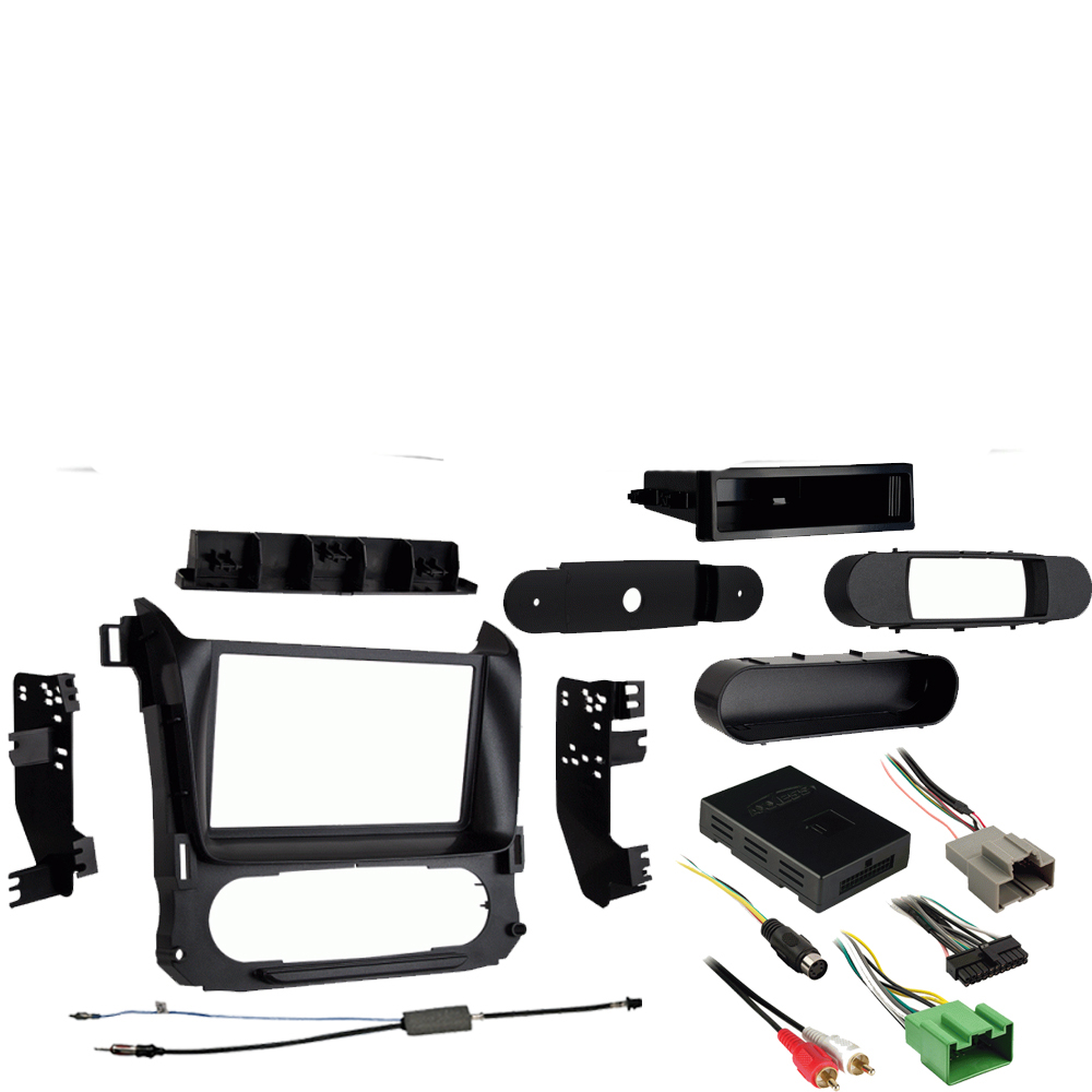 hight resolution of chevy suburban 2015 2017 single or double din stereo radio install dash kit
