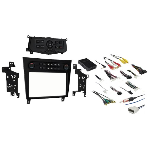 small resolution of fits infiniti g35 2007 2008 single or double din stereo radio install dash kit sc2 radiokit2204