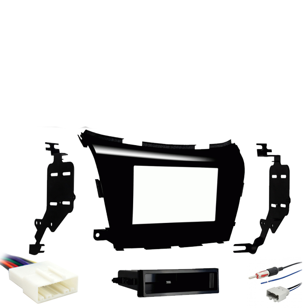 hight resolution of details about fits nissan murano 2015 2016 single din stereo harness radio install dash kit